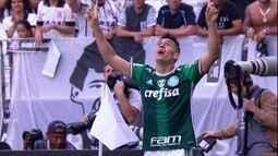 Moisés tenta combater cansaço para seguir sendo uma arma do Palmeiras rumo ao título