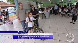 Alunos da rede pública de São José participam de gincana ecológica
