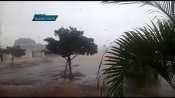 Forte chuva atinge o DF