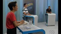 Eleitores podem definir voto durante o debate entre candidatos à Prefeitura de Belém