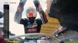 Johann Zarco vence e conquista o título da Moto2