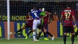 O gol de Sport 0 x 1 Cruzeiro pela 35ª rodada do Brasileirão