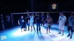 Luta completa: Krystian Nunes vence Davyd Claudio por nocaute técnico no The Start 3