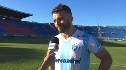Bruno Batata fica triste pela derrota mas reconhece trajetória do Londrina