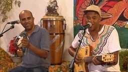 Dé Lucas e Pirulito da Vila apresentam composições de sambas
