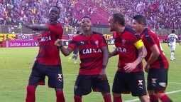 Os gols de Vitória 4 x 0 Figueirense pela 36ª rodada do Brasileirão
