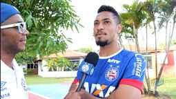 TV Bahêa - Entrevista com o atacante Hernane Brocador