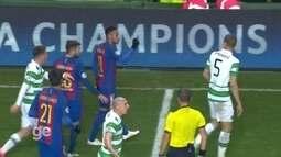 Em jogo contra o Celtic, Neymar rouba cena com vaias e confusões