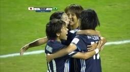 Os gols de Japão 3 x 1 Brasil pela Copa do Mundo feminina Sub-20