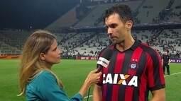 """Sobre empate contra o Corinthians, Paulo André diz: """"Foi fundamental """""""
