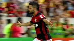 Os gols de Flamengo 2 x 0 Santos pela 37ª rodada do Campeonato Brasileiro