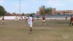 Apesar de exclusão do Estadual, Santa Quitéria mantém rotina de treinos