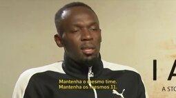Usain Bolt comenta a fase do seu time, o Manchester United