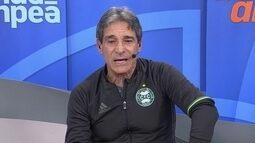 Carpegiani diz que Coritiba está se programando para não sofrer mais contra rebaixamento