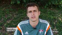 Flu TV - Entrevista com o técnico do time sub-20 Thiago Gomes