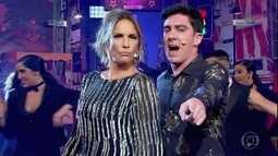Marcelo Adnet recebe Ivete Sangalo com musical