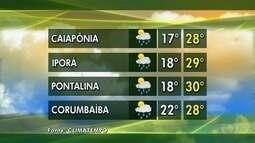 Veja como fica a previsão do tempo esta semana em Goiás