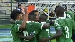 Os gols de Nacional-URU 1 x 4 Fluminense pela Copa RS de futebol Sub-20