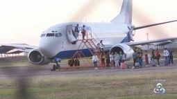 Avião faz pouso de emergência no aeroporto de Roraima