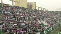 Arena Condá ficou lotada nesse sábado para homenagens