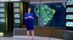 Previsão é de temporais em Foz de Iguaçu, PR
