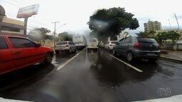 Mais da metade das multas de trânsito aplicadas em Goiás foi por excesso de velocidade
