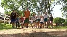 Sítios investem em turismo pedagógico