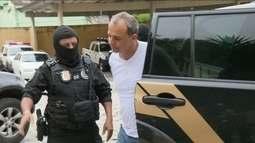 Ex-governador Sérgio Cabral é transferido para a carceragem da Polícia Federal em Curitiba