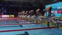 Felipe Lima conquista o bronze nos 50m peito no Mundial de Natação