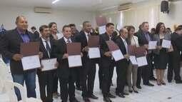 Vereadores, prefeitos e vices de Vilhena e Chupinguaia são diplomados