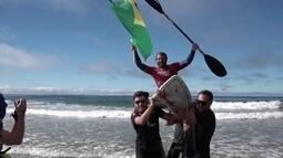 Brasil é campeão mundial por equipes de surf adaptado