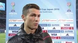 Cristiano Ronaldo fala da dificuldade de vencer o Kashima, e de seus três gols no jogo