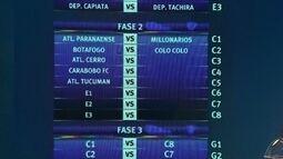 Atlético-PR encara o Millionarios e Botafogo pega o Colo-Colo na fase 2 da Libertadores