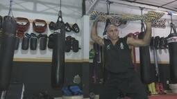 Olavo Paulo Barros fala do tempo que treinou muay thai na Tailândia