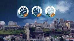 Confira a previsão do tempo para o fim de semana