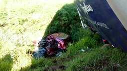 Acidentes em rodovia deixa uma pessoa morta e duas feridas na reigão