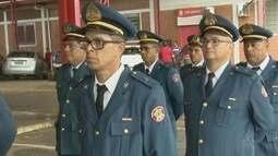Homens do Corpo de Bombeiros concluem curso de habilitação de oficiais da corporação