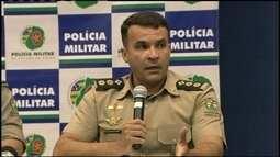 Polícia Militar de Goiás dá coletiva sobre o desaparecimento de técnico do Atlético-GO