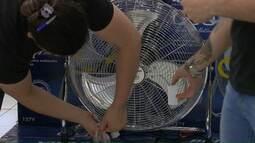 Procura por ar-condicionado e ventilador aumenta em Cascavel