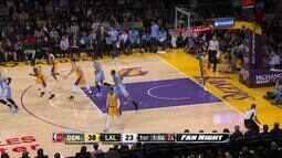 Melhores momentos: Denver Nuggets 127 x 121 Los Angeles Lakers pela NBA