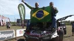 Brasileiros festejam título inédito no Rally Dakar