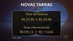 Goianos reclamam do aumento da tarifa de embarque no aeroporto de Goiânia