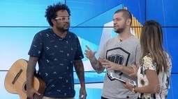 RJ Inter TV 1ª Edição recebe Marcelo Marrom e Victor Sarro em estúdio
