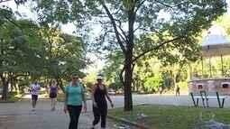 Projeto Caminhar começa neste sábado na Praça da Liberdade, em BH