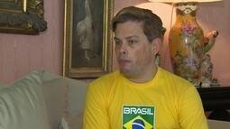 Socialite Bruno Chateaubriand assume a presidência da Federação de Ginástica