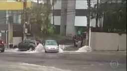 Chuva forte deixa duas vítimas em São Paulo