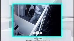 Vídeo mostra ação de criminosos em Divinópolis