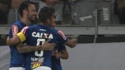 O gol de Cruzeiro 1 x 0 Atlético-MG pela 1ª rodada da Primeira Liga