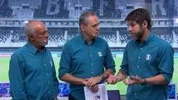 """Juninho Pernambucano analisa vitória apertada do Botafogo: """"Fez o que podia"""""""