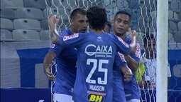 Os gols de Cruzeiro 2 x 0 Chapecoense pela 2ª rodada da Copa da Primeira Liga